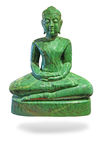 Buddha ha fatto di giada Fotografia Stock Libera da Diritti