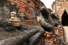 buddha halshögg s arkivfoto