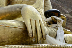 Buddha hand Royaltyfria Foton
