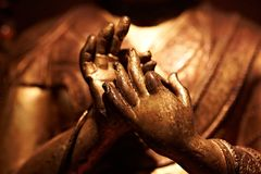 Buddha hand Stock Photos