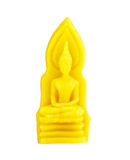 Buddha from the hand-carved candles Royalty Free Stock Photos