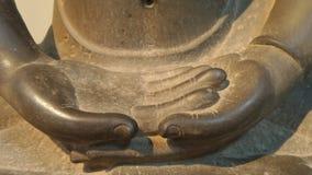 Buddha hand statue Stock Images