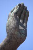 buddha handbild Royaltyfria Bilder