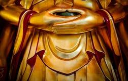 buddha hands s Arkivfoto