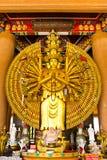 buddha hands staty tusen Royaltyfria Bilder