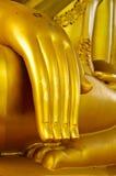buddha handstatuette Arkivbilder