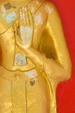 buddha handstaty arkivfoto