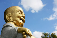 Buddha happy Royalty Free Stock Image
