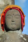 Buddha with hat Royalty Free Stock Image