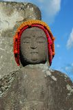Buddha with hat Royalty Free Stock Photography