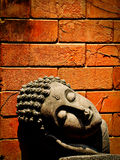 Buddha head Royalty Free Stock Images
