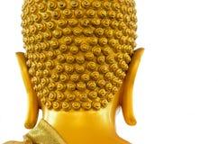 Buddha head. Back of the Buddha head Stock Images