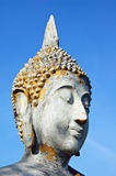Buddha head. Head of a Buddha statue from Thailand royalty free stock images