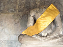 Buddha without head Royalty Free Stock Photos