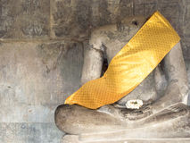 Buddha without head Royalty Free Stock Photo