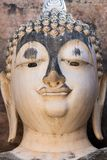 Buddha head detail Stock Photography