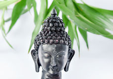 Buddha head. With isolated background stock image