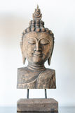 Buddha head mock for decorate home Royalty Free Stock Photography