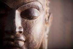 buddha head s Arkivbild