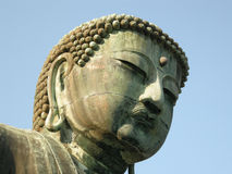 buddha head s Royaltyfria Bilder