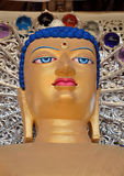 Buddha head sculpture. Royalty Free Stock Images