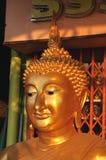 Buddha Head Sine Brass Royalty Free Stock Photo