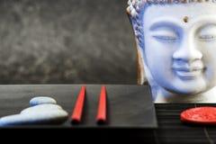 Buddha head statue Stock Images