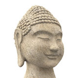 Buddha Head Statue stock illustration