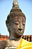 Buddha Head in Wat Phra Mahathat Royalty Free Stock Image