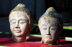 Buddha heads Royalty Free Stock Photo