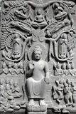 Buddha High  Relief Royalty Free Stock Photography