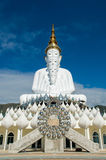 Buddha on him in Thailand Stock Photo