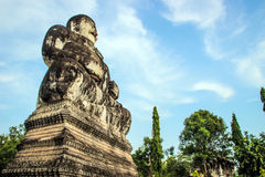 Buddha hindu statue at Sala Kaew Ku Nongkhai Thailand Royalty Free Stock Photo