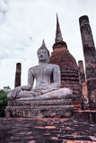 Buddha in the Historical park of Sukhothai, Thaila Stock Images