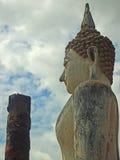 Buddha historiska Sukhothai parkerar Royaltyfria Bilder