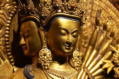buddha huvud arkivfoto