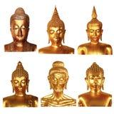 buddha huvud Royaltyfri Bild