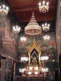 Buddha i Asien Arkivbild
