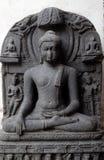 Buddha i Bhumisparsha Royaltyfri Foto