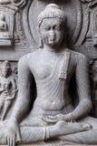 Buddha i Bhumisparsha Royaltyfri Fotografi