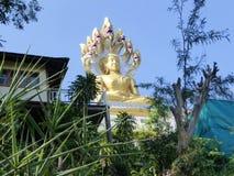 Buddha i den Tha tonen Arkivbilder