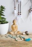 Buddha i Mala zdjęcie stock