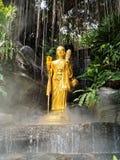 Buddha i misten Fotografering för Bildbyråer