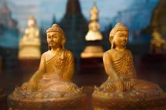 Buddha i Myanmar Royaltyfri Fotografi