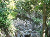 Buddha i natur fotografering för bildbyråer