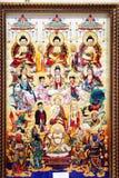 Buddha i niebiański Fotografia Royalty Free
