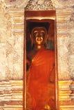 Buddha i pagod Royaltyfri Bild