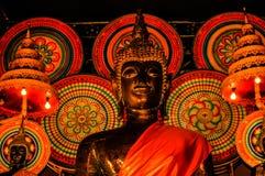 Buddha i Vientiane Arkivfoto