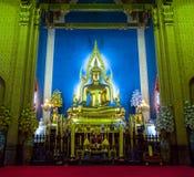 Buddha i Wat Benchamabophit Fotografering för Bildbyråer