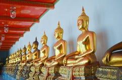Buddha i Wat Pho Fotografering för Bildbyråer